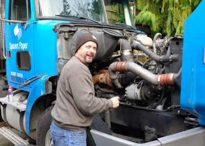 Owner and mechanic